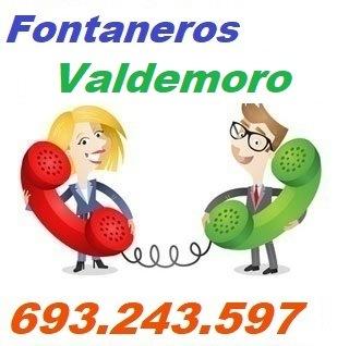 Telefono de la empresa fontaneros Valdemoro