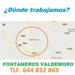Fontaneros Valdemoro calle euripides